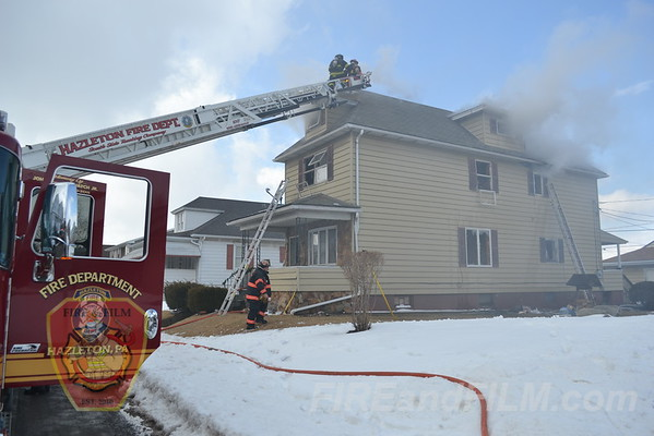 Luzerne County - Hazleton City - Dwelling Fire - 03/19/2013
