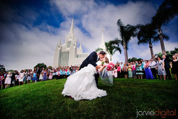 San Diego Temple Wedding (Highlights First)