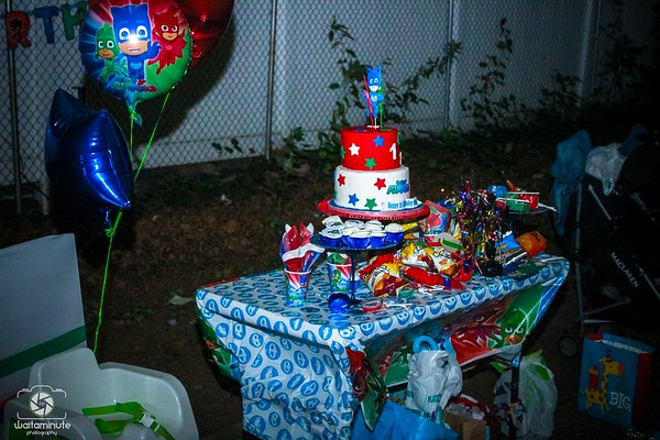 Deontae's 1st Birthday Party