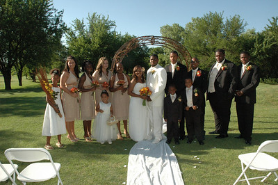 Gladys & Christopher Williams Wedding June 22, 2008