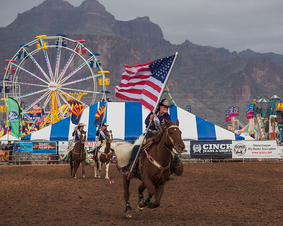 Lost Dutchman Days Rodeo 2015