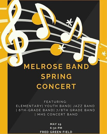 Melrose Band Spring Concert 19MAY21