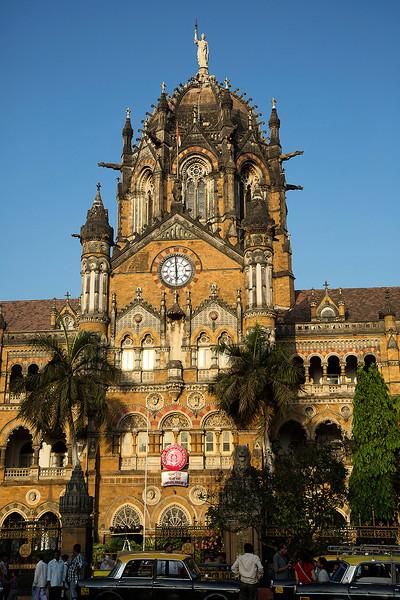 Old Victoria Terminus, now Chhatrapati Shivaji