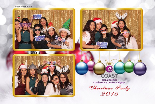 Coast Plaza Hotel Staff Christmas Party 2015