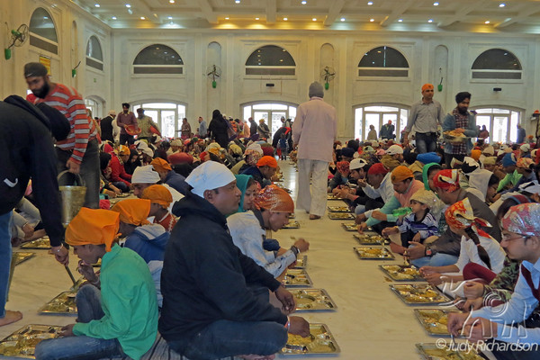 Gurudwara Bangla Sahib-Free Kitchen