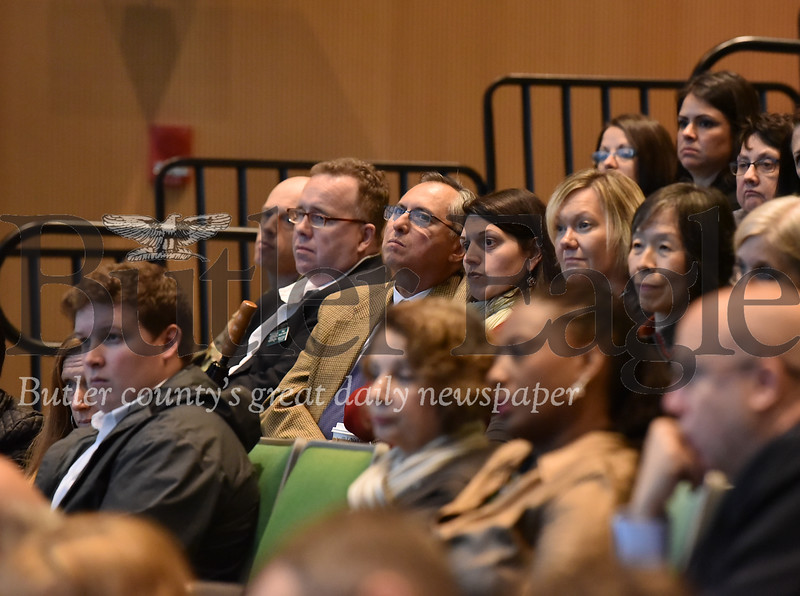 28962 State Chancellor Daniel Greenstein's open Forum at SRU Smith Student Center Theatre