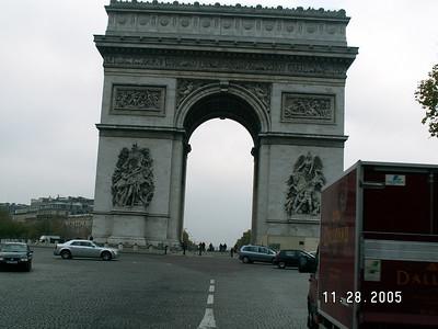 2005 Paris France Trip (9 hour layover)