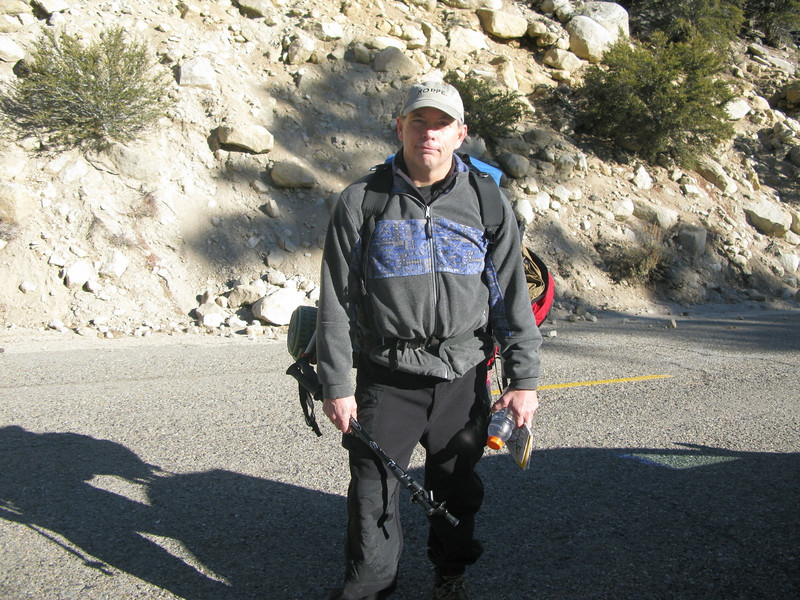 Kentucky Mike has aspirations of a day ascent of Whitney - but with no snow shoes - he was doomed
