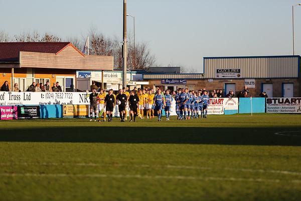 Nuneaton Town 0 - 0 Cambridge Dec 2013