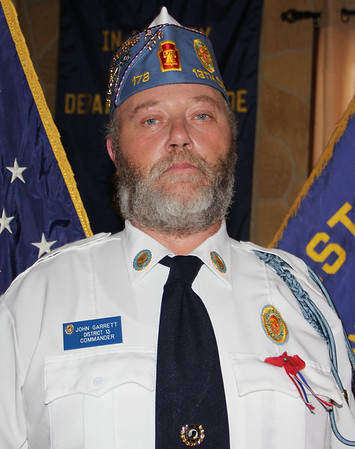 Sons of American Legion District Commander, American Legion, Tamaqua (7-22-2013)