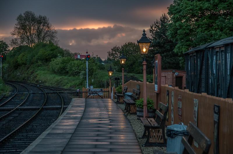 Sunset at Arley