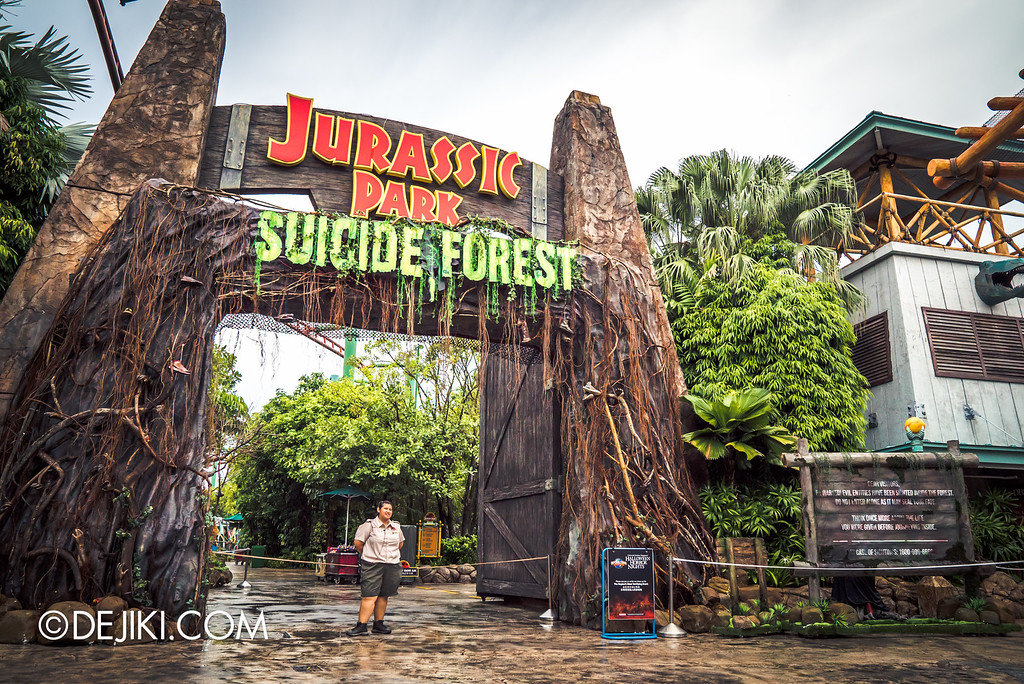 Halloween Horror Nights 6 - Suicide Forest