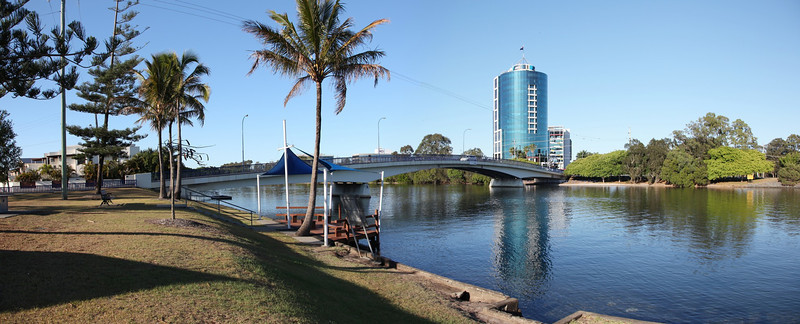 Gold Coast Canal From Chevron and Cronin Islands October 13th 2012