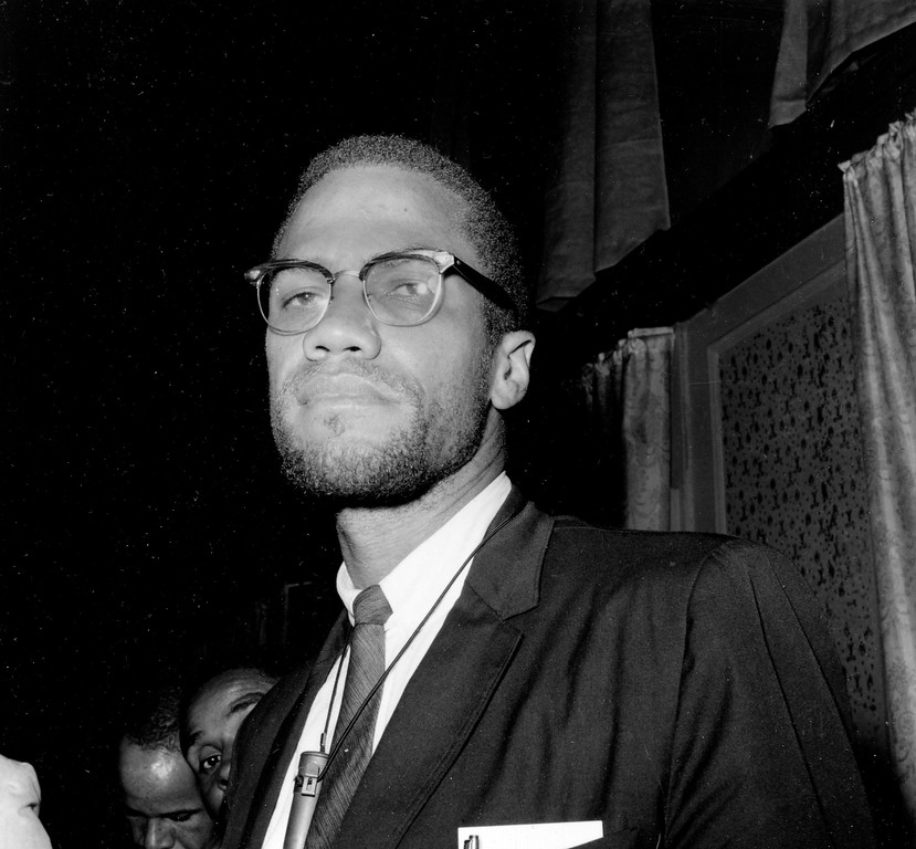 . Malcolm X Shabazz is shown in 1963.  (AP Photo)