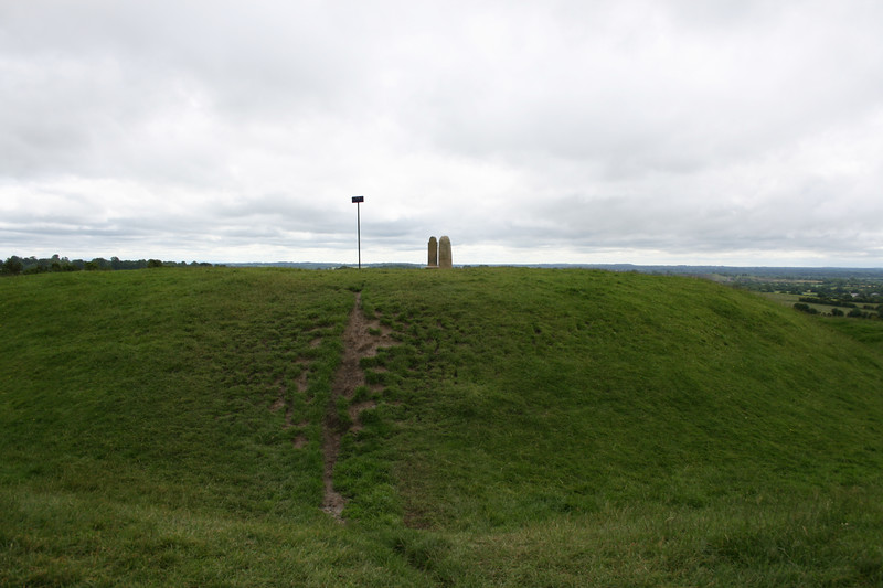 Hill of Tara  - In the centre of the Royal Seat stands a pillarstone which is believed to be the Lia Fail (stone of Destiny) or Coronation Stone.  According to legend, this stone was brought to Ireland by the Tuatha De Danaan and when the true king of Ireland stood on the stone, it would roar.