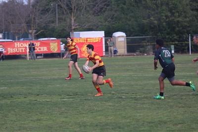 Jesuit Rugby JV (Freshman year)