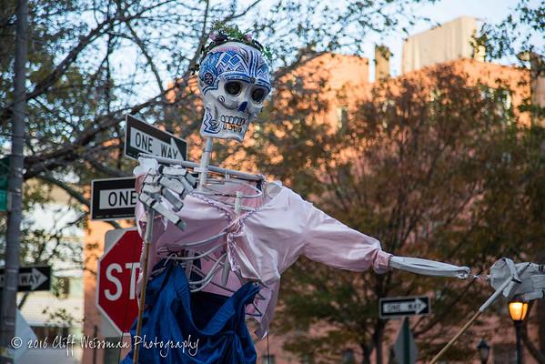 NYC Halloween Parade 2016