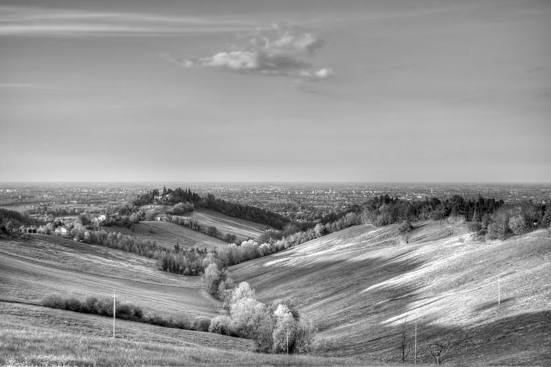 Albinea Hills - Albinea, Reggio Emilia, Italy - April 9, 2014