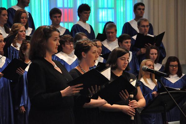 Concert Choir Spring Works April 23rd