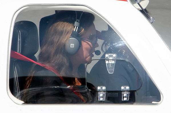Caitlyn Jenner Lands on Santa Monica Airport