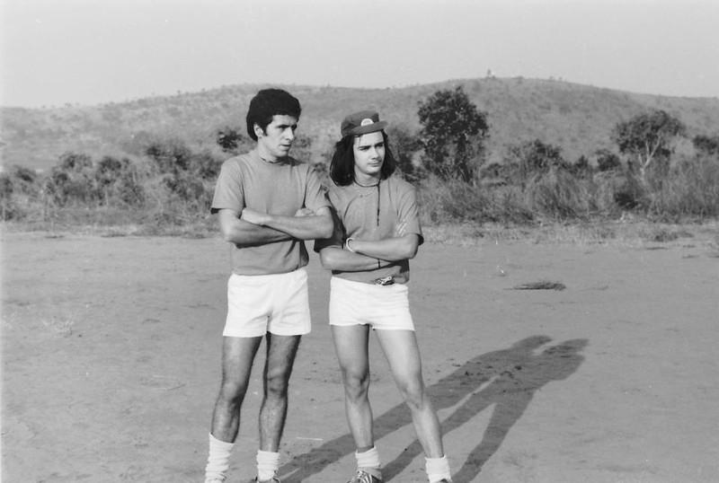 Jogo Andrada-Dundo em 27-07-1974  (resultado 0-4) Beja e Ruca