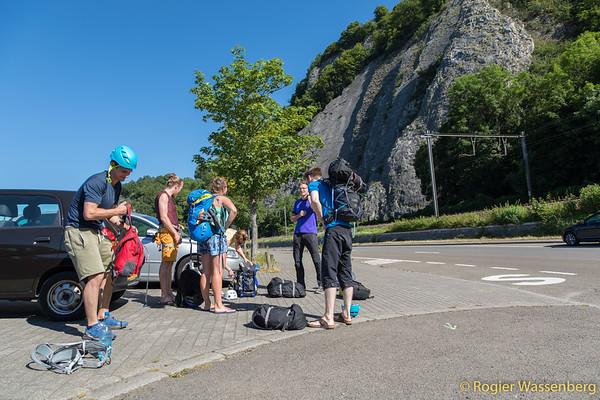 2019-06-29 Climbing in Yvoir
