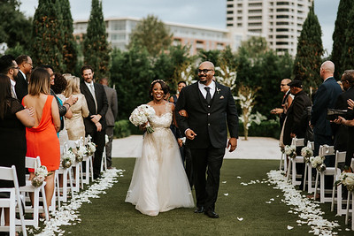 Art Deco McGovern Centennial Gardens Wedding - Second Photographer for Ron Dillon