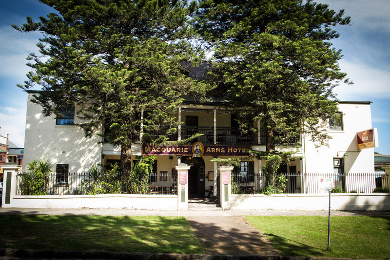 Built in 1815, it's the oldest building in Thompson Square, Windsor; and one of the oldest pubs in Australia.