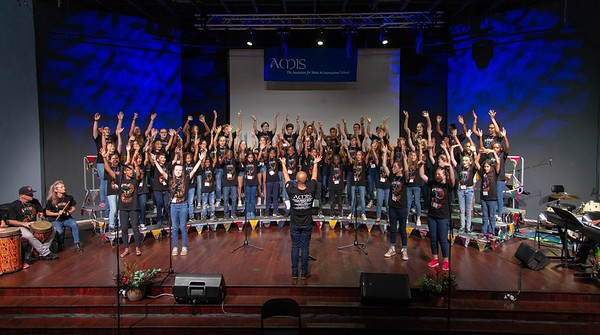 African Middle School Honor Mixed Choir