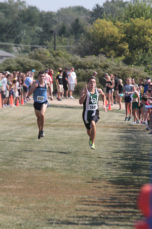 Boys Varsity Finish Gallery 1 - 2012 Golden Grizzly High School Invite