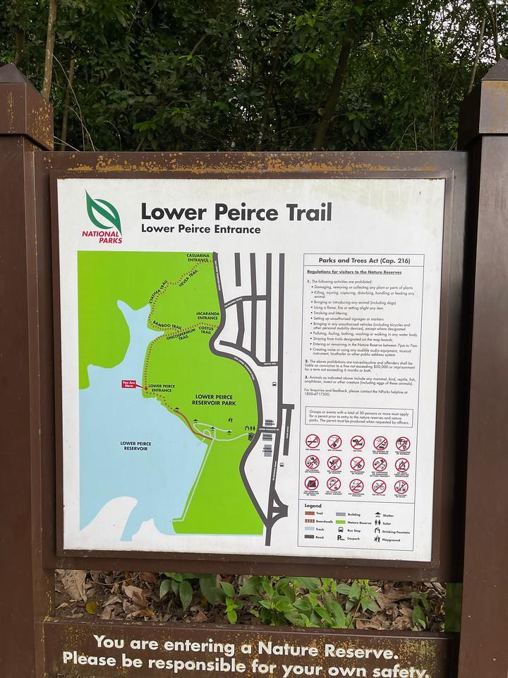 Lower Peirce Trail Entrance