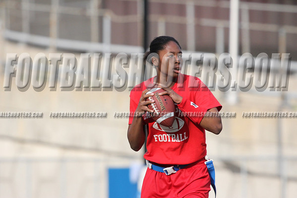 2012 PSAL Girls Flag Football Championship- Ft Hamilton Vs JFK