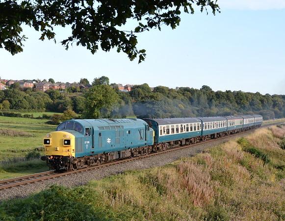 East Lancashire Railway Autumn Diesel Gala. 27/09/15.