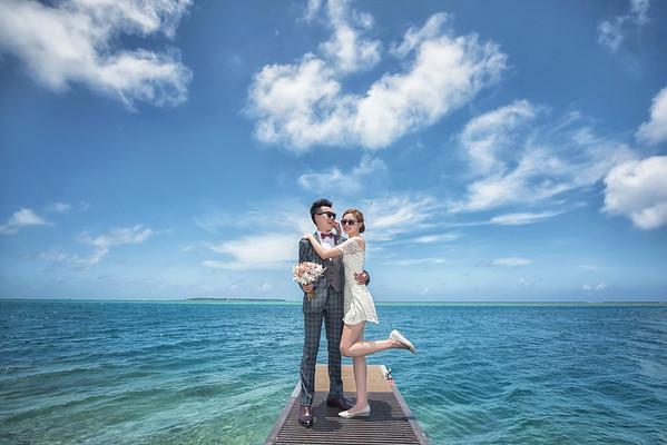 Hanyu & Vicky Engagement|Guam 關島婚紗