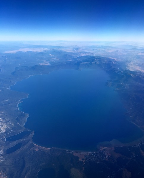 Lake Tahoe from above :)