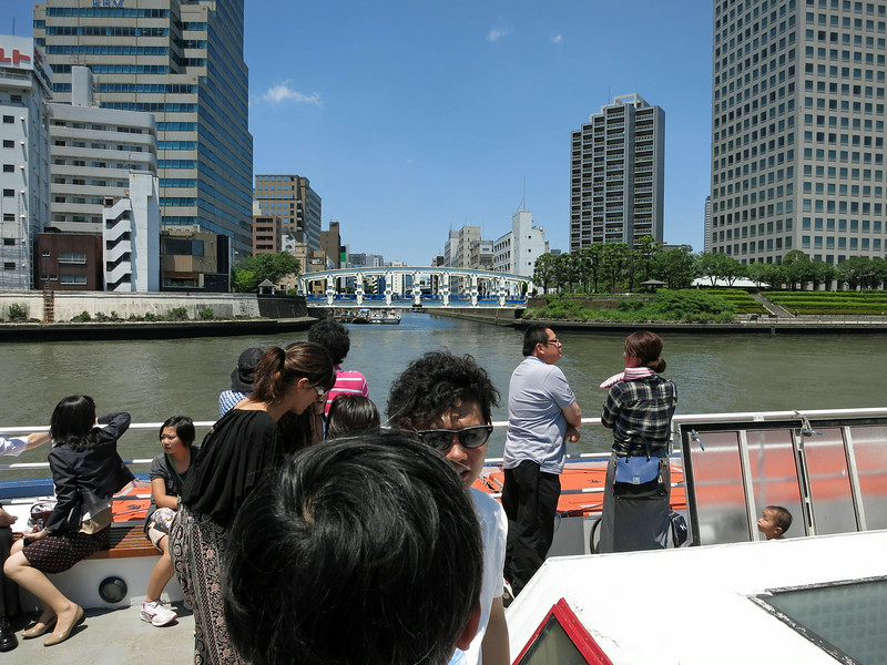 Looking SSE at Kiyosumi Dori Bridge