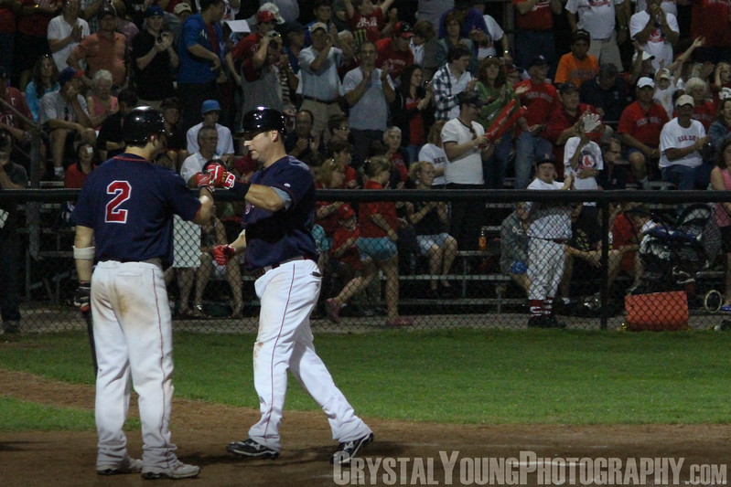 Toronto Maple Leafs at Brantford Red Sox IBL Playoffs, Semifinals Game 6 August 19, 2011
