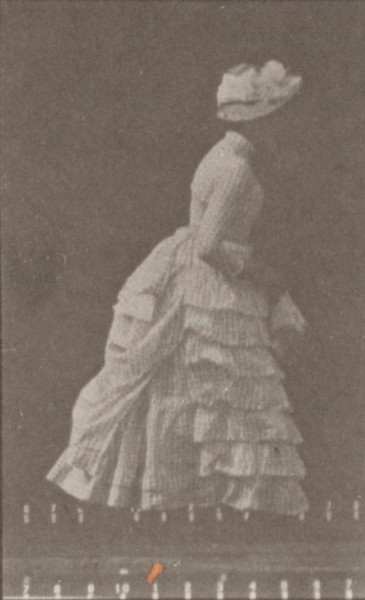 Woman lifting a handkerchief