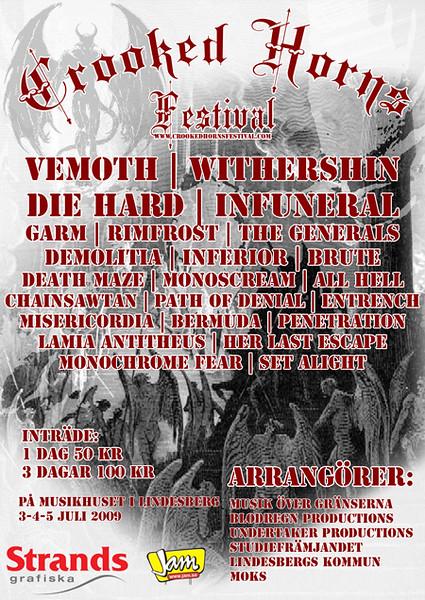 Crooked Horns, Lindesberg 10/7 2009 -  The Lamia Antitheus Experience