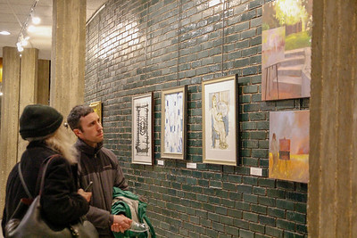 Portals Winter Art Exhibition Opening Reception