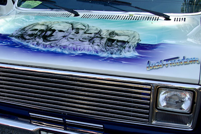 Airbrush on Cars and Motorcycles