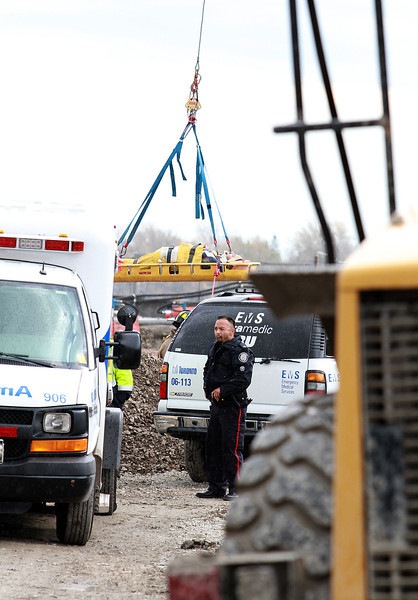 November 3, 2009 - Industrial Rescue - Sherbourne St / Queens Quay E