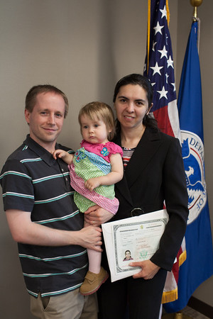 Olga becomes a United States Citizen