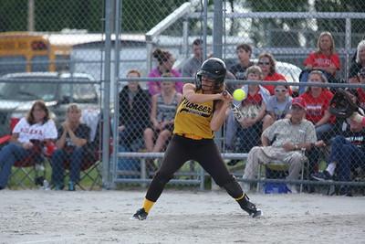 Pioneer girls softball sectional game