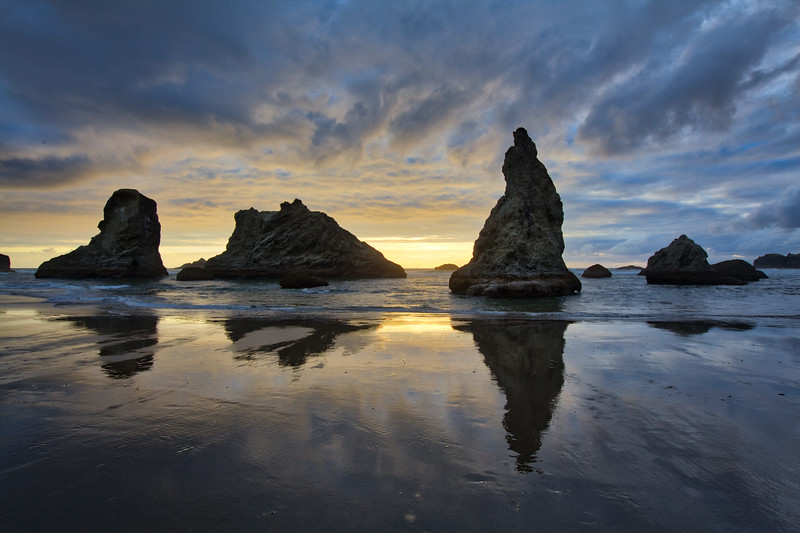 Sea stacks, Bandon, Or.