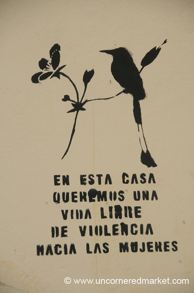 Women's Solidarity Symbol - Suchitoto, El Salvador