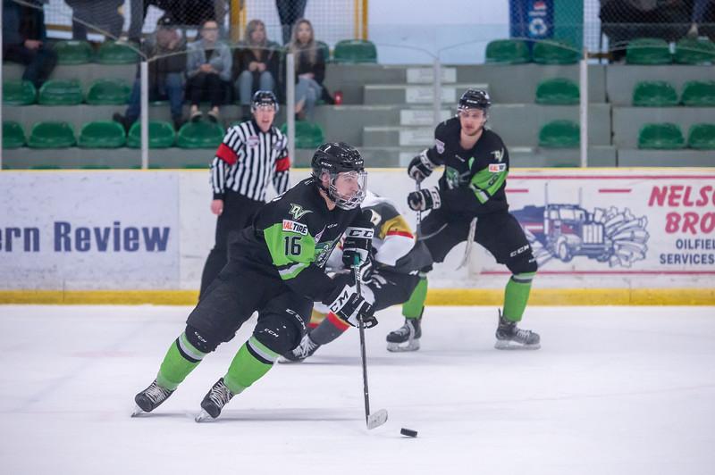 AJHL Playoffs R1G3 - Drayton Valley 2 - Bonnyville 4