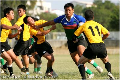 2007全運會15s-高雄縣 vs 新竹市 (Kaohsiung County VS Hsinchu City)