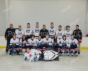 WGHS Hockey Team and Ind