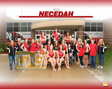 Necedah volleyball VB19